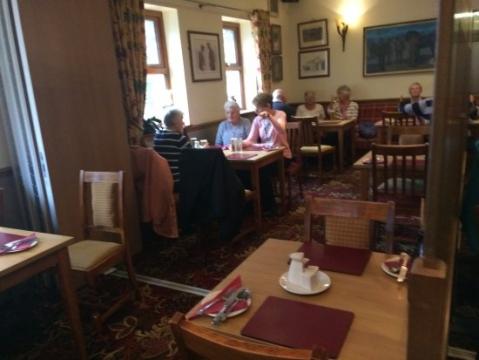 Ffostrasol Arms restaurant