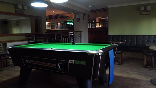 Second pool table area